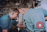 Image of Boxer aircraft carrier engine room Korea, 1953, second 5 stock footage video 65675038538