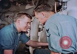 Image of Boxer aircraft carrier engine room Korea, 1953, second 6 stock footage video 65675038538