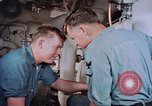 Image of Boxer aircraft carrier engine room Korea, 1953, second 7 stock footage video 65675038538