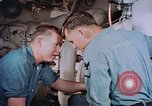 Image of Boxer aircraft carrier engine room Korea, 1953, second 8 stock footage video 65675038538