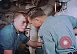 Image of Boxer aircraft carrier engine room Korea, 1953, second 9 stock footage video 65675038538