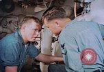 Image of Boxer aircraft carrier engine room Korea, 1953, second 10 stock footage video 65675038538