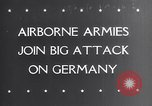 Image of Airborne troops Germany, 1945, second 1 stock footage video 65675038549