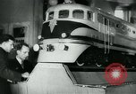 Image of Kharkov locomotive Soviet Union, 1949, second 9 stock footage video 65675038628