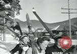 Image of skiing Bakuriani Georgia USA, 1949, second 12 stock footage video 65675038629
