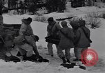 Image of American soldiers Camp Hale Colorado USA, 1944, second 4 stock footage video 65675038648