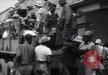 Image of rescued Allied prisoners Luzon Island Philippines, 1945, second 10 stock footage video 65675038664