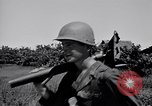 Image of 11th Airborne Division advancing Aparri Philippines, 1945, second 10 stock footage video 65675038687