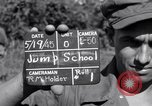Image of 11th Airborne Division jump school Lipa Philippines, 1945, second 3 stock footage video 65675038688