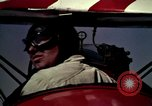 Image of Antique aircraft are flown from grass field Los Angeles California USA, 1966, second 5 stock footage video 65675038706