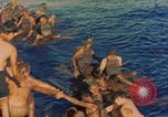 Image of Rescued sailors Okinawa Ryukyu Islands, 1945, second 2 stock footage video 65675038713
