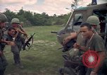 Image of Operation Wahiawa wounded air lifted Cuchi South Vietnam, 1966, second 10 stock footage video 65675038727