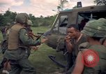 Image of Operation Wahiawa wounded air lifted Cuchi South Vietnam, 1966, second 11 stock footage video 65675038727