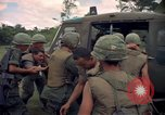 Image of Operation Wahiawa wounded air lifted Cuchi South Vietnam, 1966, second 12 stock footage video 65675038727