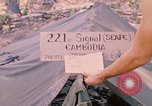 Image of 101st Airborne Division soldiers build bunkers Parrots Beak Cambodia, 1970, second 1 stock footage video 65675038731