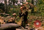 Image of 101st Airborne Division gear up Parrots Beak Cambodia, 1970, second 6 stock footage video 65675038732
