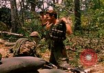 Image of 101st Airborne Division gear up Parrots Beak Cambodia, 1970, second 7 stock footage video 65675038732