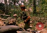 Image of 101st Airborne Division gear up Parrots Beak Cambodia, 1970, second 9 stock footage video 65675038732