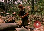 Image of 101st Airborne Division gear up Parrots Beak Cambodia, 1970, second 12 stock footage video 65675038732