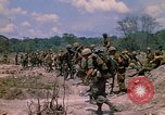 Image of 101st Airborne Division soldiers board helicopter Parrots Beak Cambodia, 1970, second 3 stock footage video 65675038733