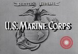 Image of Marine Private Albert Smith United States USA, 1945, second 3 stock footage video 65675038748