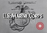 Image of Marine Private Albert Smith United States USA, 1945, second 4 stock footage video 65675038748