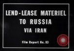 Image of lend lease activities Middle East, 1945, second 8 stock footage video 65675038764