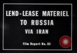 Image of lend lease activities Middle East, 1945, second 9 stock footage video 65675038764