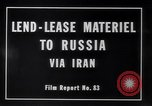 Image of lend lease activities Middle East, 1945, second 12 stock footage video 65675038764