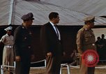 Image of flag raising ceremony Udorn Royal Thai Air Force Base Thailand, 1966, second 4 stock footage video 65675038782