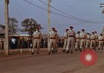 Image of flag raising ceremony Udorn Royal Thai Air Force Base Thailand, 1966, second 5 stock footage video 65675038782