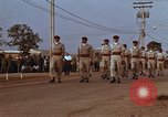 Image of flag raising ceremony Udorn Royal Thai Air Force Base Thailand, 1966, second 8 stock footage video 65675038782