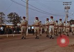 Image of flag raising ceremony Udorn Royal Thai Air Force Base Thailand, 1966, second 9 stock footage video 65675038782