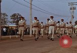Image of flag raising ceremony Udorn Royal Thai Air Force Base Thailand, 1966, second 10 stock footage video 65675038782