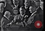 Image of John Fitzgerald Kennedy inauguration Washington DC USA, 1961, second 3 stock footage video 65675038819
