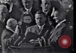 Image of John Fitzgerald Kennedy inauguration Washington DC USA, 1961, second 8 stock footage video 65675038819