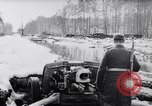 Image of German Infantry operating in marshes in Winter Ukraine, 1944, second 1 stock footage video 65675038829