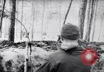 Image of German Infantry operating in marshes in Winter Ukraine, 1944, second 5 stock footage video 65675038829