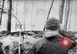 Image of German Infantry operating in marshes in Winter Ukraine, 1944, second 6 stock footage video 65675038829