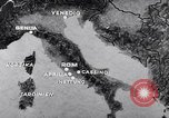Image of ruins of Cassino town Cassino Italy, 1944, second 4 stock footage video 65675038830