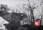 Image of ruins of Cassino town Cassino Italy, 1944, second 9 stock footage video 65675038830
