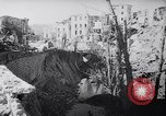 Image of ruins of Cassino town Cassino Italy, 1944, second 10 stock footage video 65675038830
