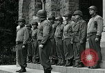 Image of Major General L Collins Butgenbach Belgium, 1944, second 11 stock footage video 65675038858