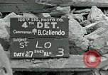 Image of Saint Lo town Saint Lo Normandy France, 1944, second 1 stock footage video 65675038867