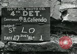 Image of Saint Lo town Saint Lo Normandy France, 1944, second 5 stock footage video 65675038868