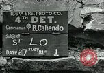 Image of Saint Lo town Saint Lo Normandy France, 1944, second 7 stock footage video 65675038868
