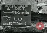 Image of Saint Lo town Saint Lo Normandy France, 1944, second 10 stock footage video 65675038868