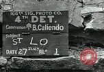 Image of Saint Lo town Saint Lo Normandy France, 1944, second 11 stock footage video 65675038868