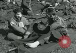 Image of wounded soldiers Saint Mere Eglise France, 1944, second 1 stock footage video 65675038875