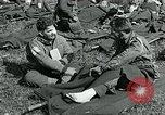 Image of wounded soldiers Saint Mere Eglise France, 1944, second 4 stock footage video 65675038875